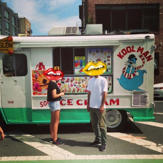 Ice-cream van Lips